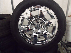 GMC YUKON XL SIERRA DENALI FACTORY CHROME WHEELS