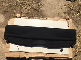 MINI F56 REAR PARCEL SHELF IN BLACK