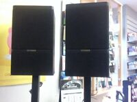 Fisher Speakers with stands