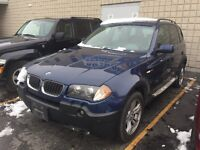X3 3.0 4X4 - LEATHER AND SUNROOF - ALLOYS AND RUNNING BOARDS