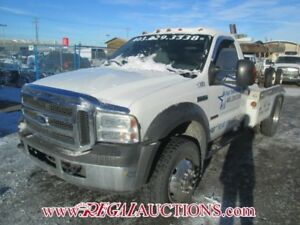 2005 FORD F-450  R/CAB TOW TRUCK 2WD