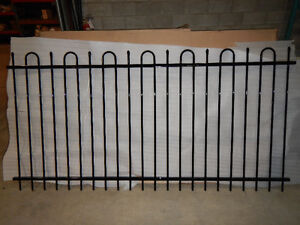 Imperial Ornamental Iron Fence Panels