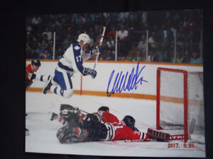 AMAZING AUTHENTIC AUTOGRAPHED NHL LEGENDS 8X10 PHOTOS !!!
