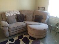 Curved cord corner sofa (swap)