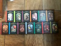 A Series of Unfortunate Events by Lemony Snicket Books 1 to 13. The full series