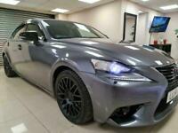 Lexus IS 300h 2.5 E-CVT Luxury Grey Auto £20 Tax WARRANTY 12 MONTHS MOT FULL SH
