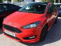 2016 Ford Focus 1.5 EcoBoost 182 Zetec S Red 5dr Hatchback Petrol Manual