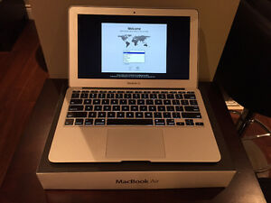 "11.6"" MacBook Air with core i7, 4GB ram and 128 SSD"