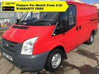 "2007 ""57"" Ford Transit 2.2 260S Low Roof Panel Van,1 Owner, FSH, ( swb 280 300"