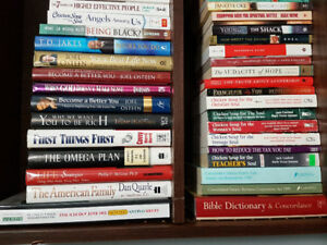 Lots of rare and bestseller novels, books & textbooks