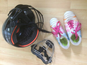 Lightly Used Ball Gear & Cleats for Sale