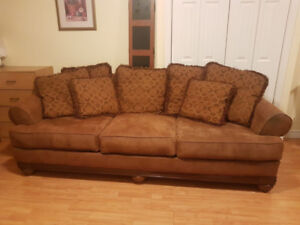 Solid wood sofa for sale