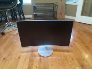 Samsung monitor (curved)