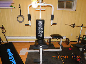 Weider excercise machine