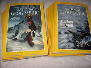 REVUES NATIONAL GEOGRAPHIC COLLECTION