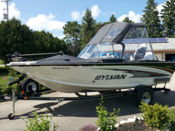 Sylvan ind pro sport for sale canada for Sylvan fishing boats
