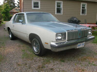 1978 Oldsmobile Cutlass Coupe Buckets & Console