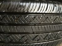 4-All season tires with Aluminium rims like new 205-65-16