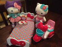 Hello Kitty Dolls With Accessories