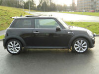 2011 61 REG MINI 2.0TD COOPER SD++WITH SATNAV+LEATHER+PANROOF++
