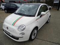 Fiat 500 1.2 Lounge - Italia, Low Miles, Fantastic Condition Both Inside & Out
