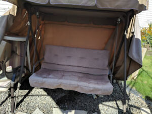 2 Seater Swing with Cover