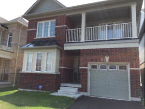Detached, 4 beds, 3 baths HOUSE FOR RENT in AJAX Ontario