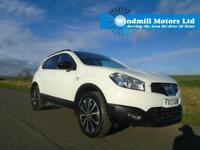 2013/13 NISSAN QASHQAI 1.6 360 5DR WHITE - GREAT SPEC - MUST SEE