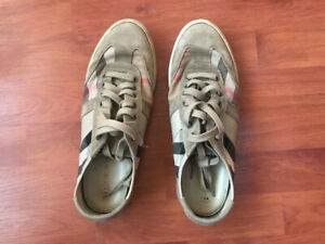 Men's Burberry sneakers suede/leather.  9US (size 42UK)