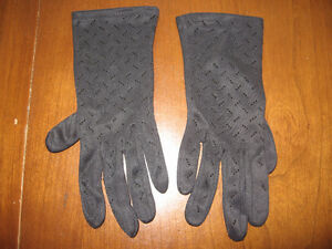 BLACK LADIES SILKY GLOVES Kitchener / Waterloo Kitchener Area image 1