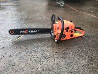 Pro craft 18inch chainsaw