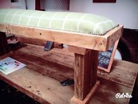 Bench reclaimed kitchen bench