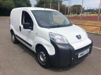 2010 Peugeot Bipper 1.4HDi 8v 70 S COMPLETE WITH M.O.T AND WARRANTY