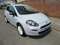 2012 FIAT PUNTO 1.4 8V 77BHP BRIO MANUAL PETROL 3 DOOR HATCHBACK