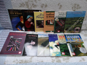 Tin Whistle Books with CDs