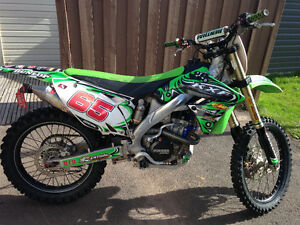 2009 Kx250f - Lots of aftermarket parts