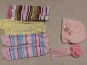 Baby Leg Warmers set for girl
