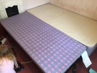 Single Bed with Guest Bed Frame