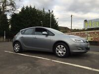 Vauxhall Astra Exclusiv Years Mot Low Miles 61 Plate Cheap Car !!