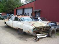 Wanted 60 Cadillac Parts Car