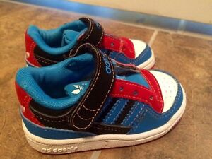 Mint condition baby adidas shoes