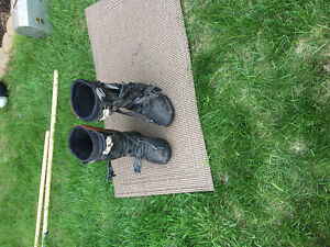 Fox Dirt bike boots youth size 5