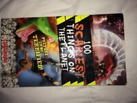 Hundred scariest things on the planet book