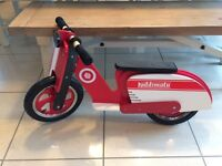 Kiddimoto Scooter Balance Bike - NEW