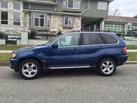 2004 BMW X5 SUV, very clean and well maintained