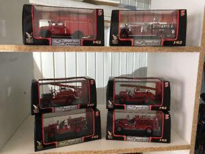 Ensemble de camion de pompier 1:43 signature series