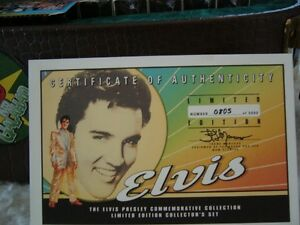 Elvis Presley Commemorative Collection Strathcona County Edmonton Area image 5