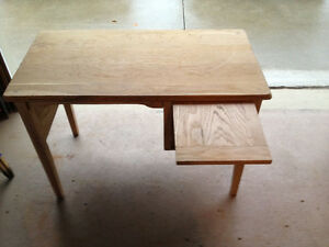 1950's Solid Tiger Oak Writing Desk London Ontario image 3
