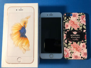Iphone 6s gold 128GB Unlocked 9.5/10 new