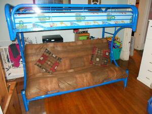 C-Shaped Futon bunk beds